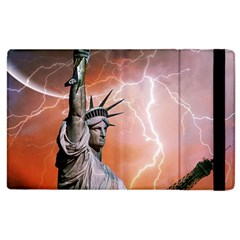 Statue Of Liberty New York Apple Ipad 3/4 Flip Case by Nexatart