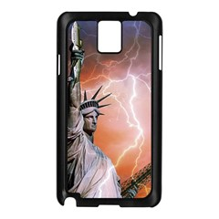 Statue Of Liberty New York Samsung Galaxy Note 3 N9005 Case (black)