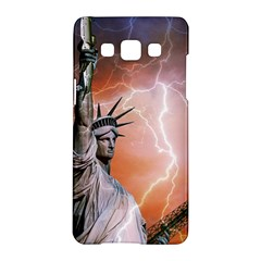 Statue Of Liberty New York Samsung Galaxy A5 Hardshell Case  by Nexatart