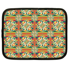 Eye Catching Pattern Netbook Case (xl)  by linceazul