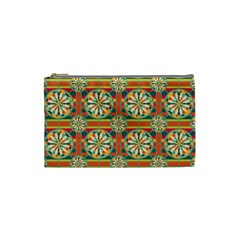 Eye Catching Pattern Cosmetic Bag (small)  by linceazul