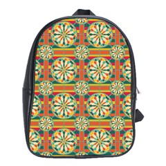 Eye Catching Pattern School Bag (xl) by linceazul