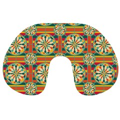 Eye Catching Pattern Travel Neck Pillows by linceazul