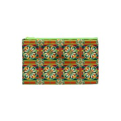 Eye Catching Pattern Cosmetic Bag (xs) by linceazul