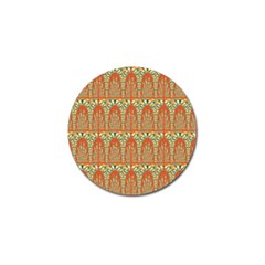 Arcs Pattern Golf Ball Marker (10 Pack) by linceazul