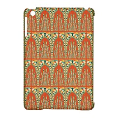 Arcs Pattern Apple Ipad Mini Hardshell Case (compatible With Smart Cover) by linceazul