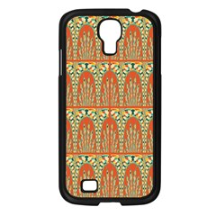 Arcs Pattern Samsung Galaxy S4 I9500/ I9505 Case (black) by linceazul
