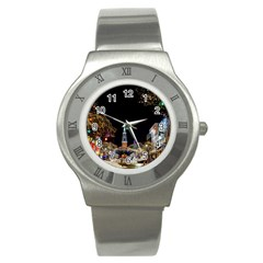 Church Decoration Night Stainless Steel Watch
