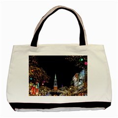 Church Decoration Night Basic Tote Bag by Nexatart