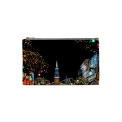 Church Decoration Night Cosmetic Bag (small)