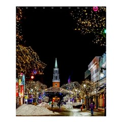 Church Decoration Night Shower Curtain 60  X 72  (medium)