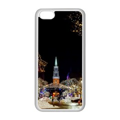Church Decoration Night Apple Iphone 5c Seamless Case (white) by Nexatart
