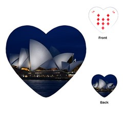 Landmark Sydney Opera House Playing Cards (heart)