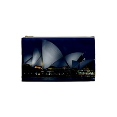 Landmark Sydney Opera House Cosmetic Bag (small)  by Nexatart