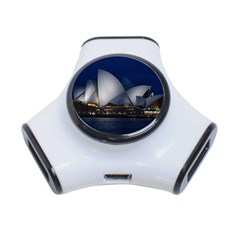 Landmark Sydney Opera House 3 Port Usb Hub by Nexatart