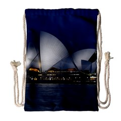 Landmark Sydney Opera House Drawstring Bag (large)