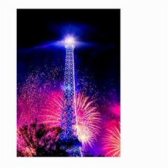 Paris France Eiffel Tower Landmark Large Garden Flag (two Sides)