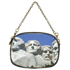 Mount Rushmore Monument Landmark Chain Purses (one Side)
