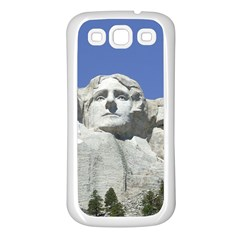 Mount Rushmore Monument Landmark Samsung Galaxy S3 Back Case (white)