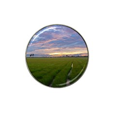 Landscape Sunset Sky Sun Alpha Hat Clip Ball Marker by Nexatart