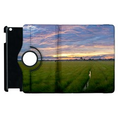 Landscape Sunset Sky Sun Alpha Apple Ipad 3/4 Flip 360 Case by Nexatart