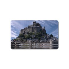 Mont Saint Michel France Normandy Magnet (name Card) by Nexatart