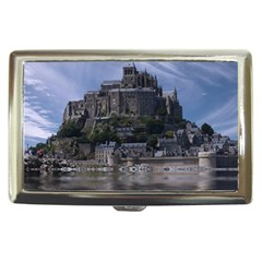 Mont Saint Michel France Normandy Cigarette Money Cases by Nexatart