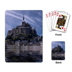 Mont Saint Michel France Normandy Playing Card