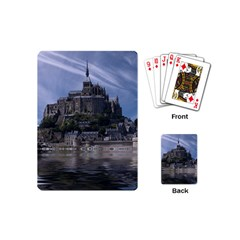 Mont Saint Michel France Normandy Playing Cards (mini)