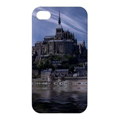 Mont Saint Michel France Normandy Apple Iphone 4/4s Premium Hardshell Case