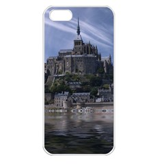 Mont Saint Michel France Normandy Apple Iphone 5 Seamless Case (white) by Nexatart