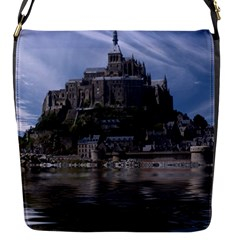 Mont Saint Michel France Normandy Flap Messenger Bag (s)