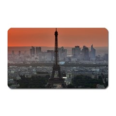 Paris France French Eiffel Tower Magnet (rectangular)