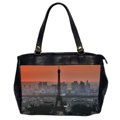 Paris France French Eiffel Tower Office Handbags (2 Sides)