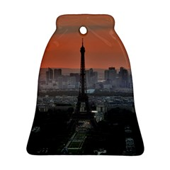 Paris France French Eiffel Tower Ornament (bell)