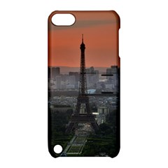 Paris France French Eiffel Tower Apple Ipod Touch 5 Hardshell Case With Stand by Nexatart