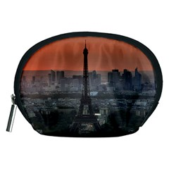 Paris France French Eiffel Tower Accessory Pouches (medium)