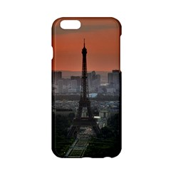 Paris France French Eiffel Tower Apple Iphone 6/6s Hardshell Case by Nexatart