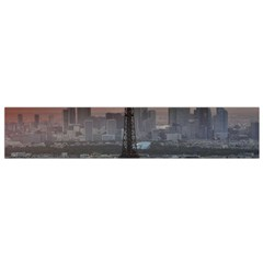 Paris France French Eiffel Tower Flano Scarf (small) by Nexatart