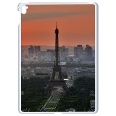 Paris France French Eiffel Tower Apple Ipad Pro 9 7   White Seamless Case by Nexatart