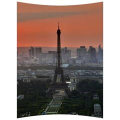 Paris France French Eiffel Tower Back Support Cushion