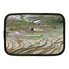 Rice Fields Terraced Terrace Netbook Case (medium)  by Nexatart