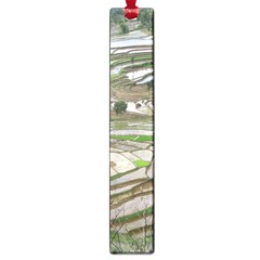 Rice Fields Terraced Terrace Large Book Marks by Nexatart
