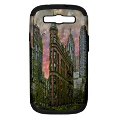 Flat Iron Building Toronto Ontario Samsung Galaxy S Iii Hardshell Case (pc+silicone)