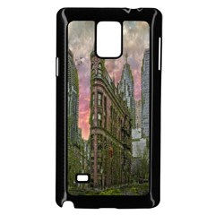 Flat Iron Building Toronto Ontario Samsung Galaxy Note 4 Case (black)