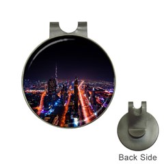 Dubai Cityscape Emirates Travel Hat Clips With Golf Markers