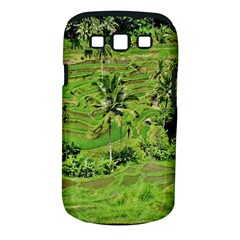 Greenery Paddy Fields Rice Crops Samsung Galaxy S Iii Classic Hardshell Case (pc+silicone) by Nexatart