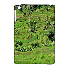 Greenery Paddy Fields Rice Crops Apple Ipad Mini Hardshell Case (compatible With Smart Cover) by Nexatart