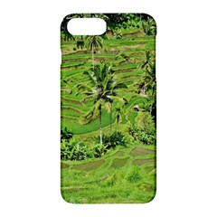 Greenery Paddy Fields Rice Crops Apple Iphone 7 Plus Hardshell Case by Nexatart