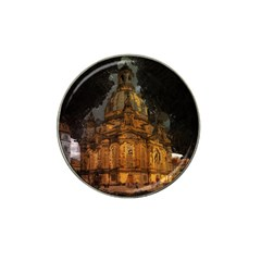 Dresden Frauenkirche Church Saxony Hat Clip Ball Marker by Nexatart